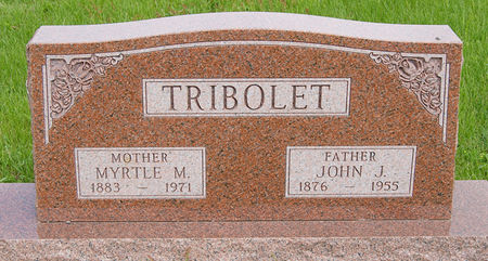 GORDON TRIBOLET, MYRTLE MAE - Taylor County, Iowa | MYRTLE MAE GORDON TRIBOLET