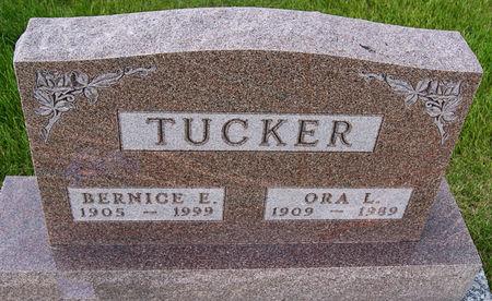 BUSH TUCKER, BERNICE EVELYN - Taylor County, Iowa | BERNICE EVELYN BUSH TUCKER