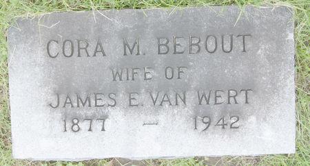 BEBOUT VAN WERT, CORA M. - Taylor County, Iowa   CORA M. BEBOUT VAN WERT