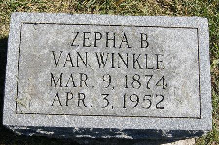 HARDY VAN WINKLE, ZEPHA LABELLE - Taylor County, Iowa | ZEPHA LABELLE HARDY VAN WINKLE