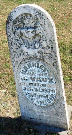 TAYLOR VAUX, HARRIET - Taylor County, Iowa | HARRIET TAYLOR VAUX