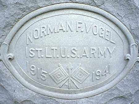 VOGEL, NORMAN F. - Taylor County, Iowa | NORMAN F. VOGEL