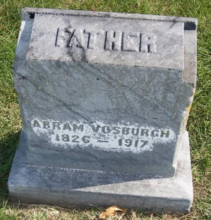 VOSBURGH, ABRAM - Taylor County, Iowa | ABRAM VOSBURGH