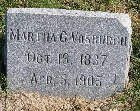 VOSBURGH, MARTHA CORNELIA - Taylor County, Iowa | MARTHA CORNELIA VOSBURGH