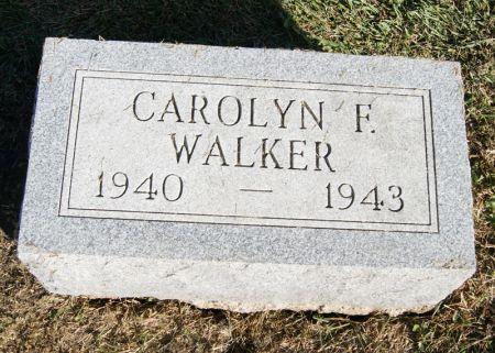 WALKER, CAROLYN FERN - Taylor County, Iowa   CAROLYN FERN WALKER