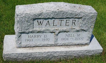 GRISWOLD WALTER, NELL MARIE - Taylor County, Iowa   NELL MARIE GRISWOLD WALTER