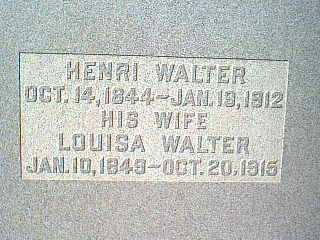 WALTER, HENRI - Taylor County, Iowa | HENRI WALTER