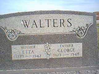WALTERS, ETTA - Taylor County, Iowa | ETTA WALTERS