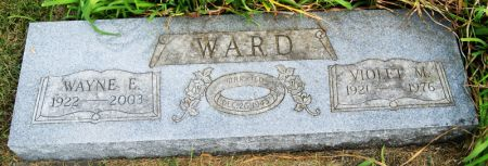 REDENBAUGH WARD, VIOLET MARIE - Taylor County, Iowa | VIOLET MARIE REDENBAUGH WARD