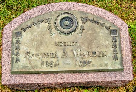 CLARK WARDEN, SAREPTA ADELINE - Taylor County, Iowa | SAREPTA ADELINE CLARK WARDEN