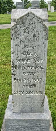 MORGASON WARE, IDA BELLE - Taylor County, Iowa | IDA BELLE MORGASON WARE
