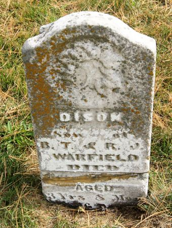 WARFIELD, DISON - Taylor County, Iowa | DISON WARFIELD