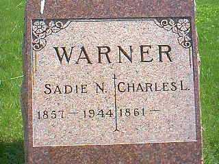 WARNER, SADIE N. - Taylor County, Iowa | SADIE N. WARNER