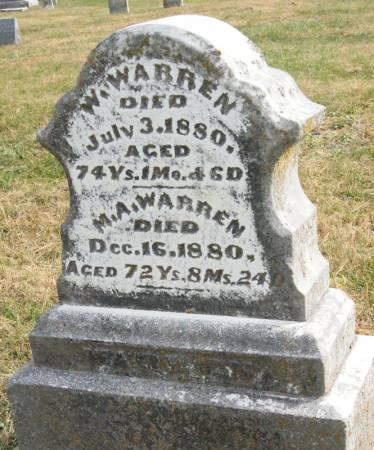 LONG WARREN, MARY ANN - Taylor County, Iowa | MARY ANN LONG WARREN