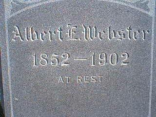 WEBSTER, ALBERT E. - Taylor County, Iowa | ALBERT E. WEBSTER