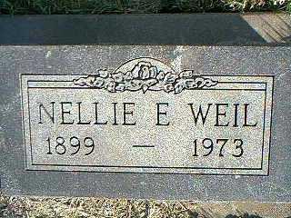 WEIL, NELLIE E. - Taylor County, Iowa   NELLIE E. WEIL