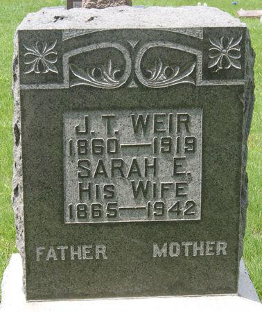 MELOY WEIR, SARAH ELIZABETH - Taylor County, Iowa | SARAH ELIZABETH MELOY WEIR
