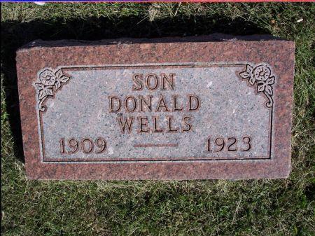 WELLS, DONALD - Taylor County, Iowa | DONALD WELLS