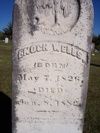 WELLS, ENOCH - Taylor County, Iowa | ENOCH WELLS