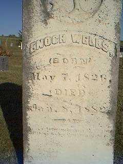 WELLS, ENOCH - Taylor County, Iowa | ENOCH WELLS