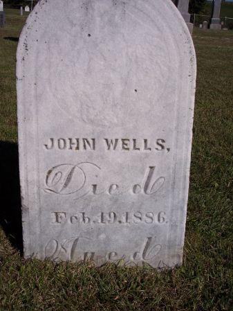 WELLS, JOHN - Taylor County, Iowa | JOHN WELLS