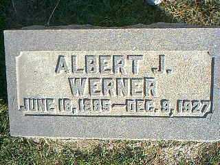 WERNER, ALBERT J. - Taylor County, Iowa | ALBERT J. WERNER