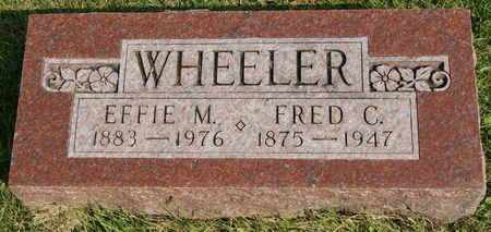 WHEELER, EFFIE MABEL