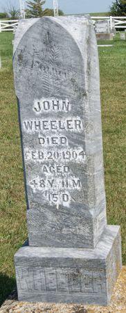 WHEELER, JOHN - Taylor County, Iowa | JOHN WHEELER