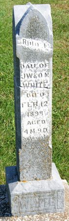 WHITE, RUTH A. - Taylor County, Iowa | RUTH A. WHITE