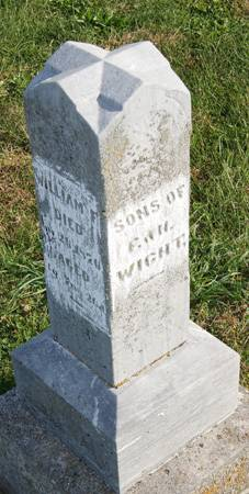 WIGHT, WILLIAM FLETCHER, SONS OF - Taylor County, Iowa   WILLIAM FLETCHER, SONS OF WIGHT