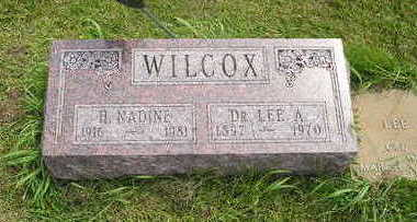 WILCOX, LEE A. - Taylor County, Iowa | LEE A. WILCOX