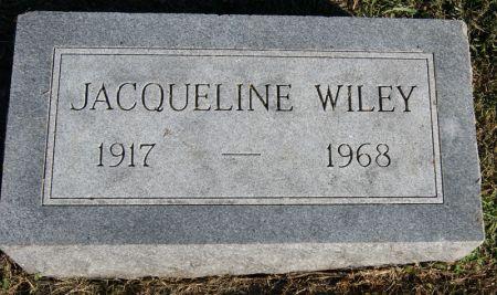 HILLARD WILEY, JACQUELINE - Taylor County, Iowa | JACQUELINE HILLARD WILEY