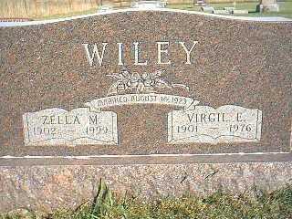 WILEY, VIRGIL E. - Taylor County, Iowa | VIRGIL E. WILEY