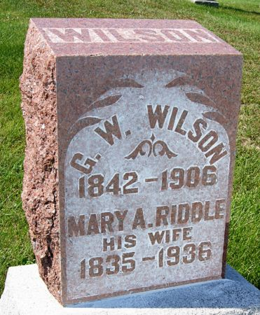 WILSON, MARY ANN - Taylor County, Iowa | MARY ANN WILSON