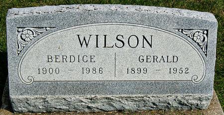 WILSON, LEETA BERDICE - Taylor County, Iowa | LEETA BERDICE WILSON