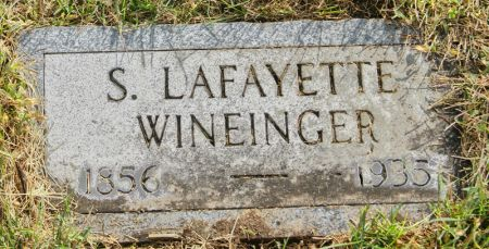 WINEINGER, SAMUEL LAFAYETTE - Taylor County, Iowa | SAMUEL LAFAYETTE WINEINGER