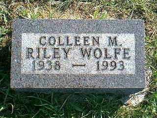 WOLFE, COLLEEN M. - Taylor County, Iowa | COLLEEN M. WOLFE