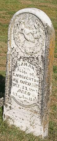 JOHNSTON WOLVERTON, SARAH - Taylor County, Iowa | SARAH JOHNSTON WOLVERTON
