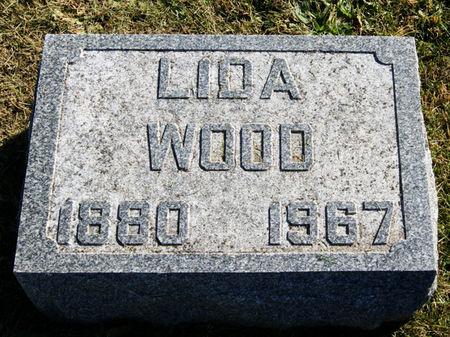 BLANE WOOD, LIDA - Taylor County, Iowa   LIDA BLANE WOOD
