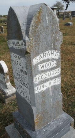 WARREN WOOD, SARAH ANN - Taylor County, Iowa   SARAH ANN WARREN WOOD