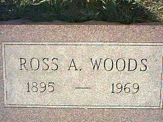 WOODS, ROSS A. - Taylor County, Iowa | ROSS A. WOODS