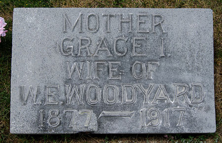 LOOMIS WOODYARD, GRACE IRENE - Taylor County, Iowa   GRACE IRENE LOOMIS WOODYARD