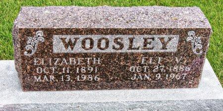 DRAPER WOOSLEY, EVA ELIZABETH - Taylor County, Iowa | EVA ELIZABETH DRAPER WOOSLEY