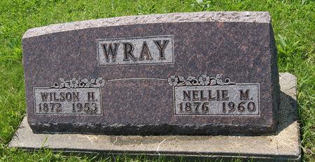 MILLER WRAY, NELLIE - Taylor County, Iowa   NELLIE MILLER WRAY