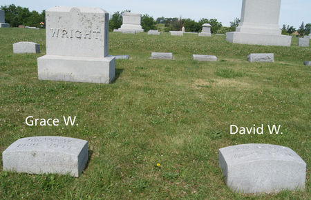 WRIGHT, DAVID W., FAMILY PLOT OF - Taylor County, Iowa | DAVID W., FAMILY PLOT OF WRIGHT