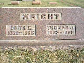 WRIGHT, EDITH C. - Taylor County, Iowa | EDITH C. WRIGHT