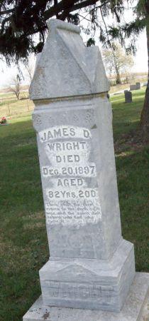 WRIGHT, JAMES DUNKIN - Taylor County, Iowa | JAMES DUNKIN WRIGHT
