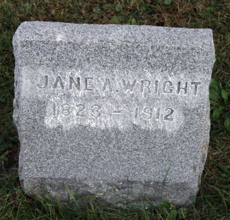 WRIGHT, JANE ANN - Taylor County, Iowa | JANE ANN WRIGHT