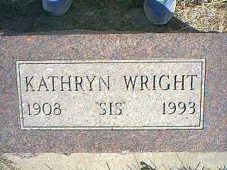 WRIGHT, KATHRYN - Taylor County, Iowa | KATHRYN WRIGHT