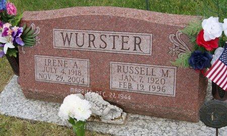 HEWITT WURSTER, IRENE ANNA - Taylor County, Iowa | IRENE ANNA HEWITT WURSTER